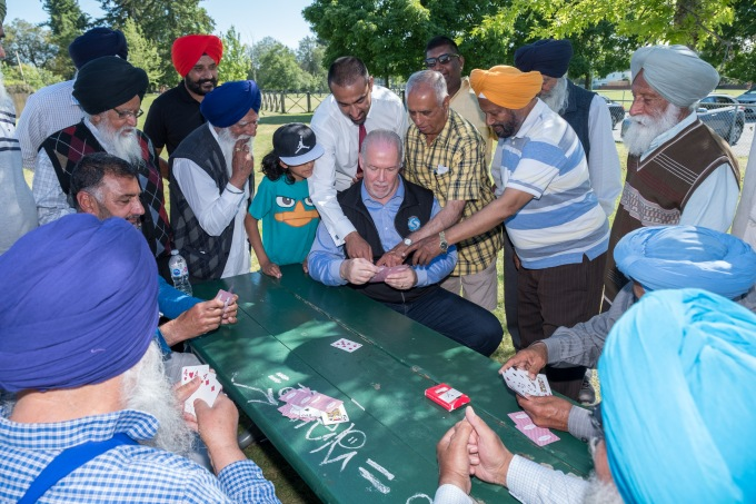 Delta's first cricket pitch opens at Delview Park