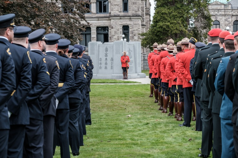 British Columbia Law Enforcement Memorial Service